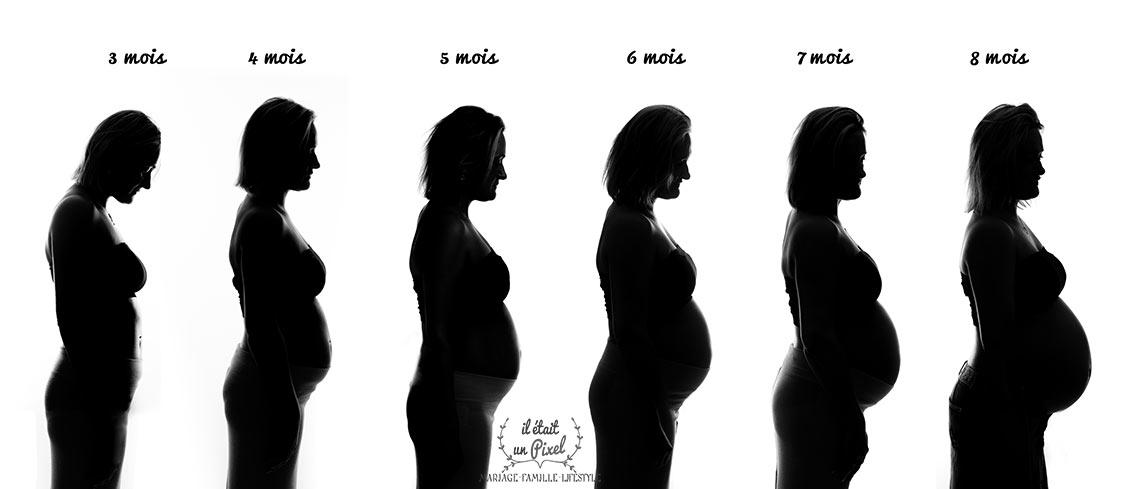 Très Blog - Il était un Pixel : Séance photo Evolution de grossesse  BY49